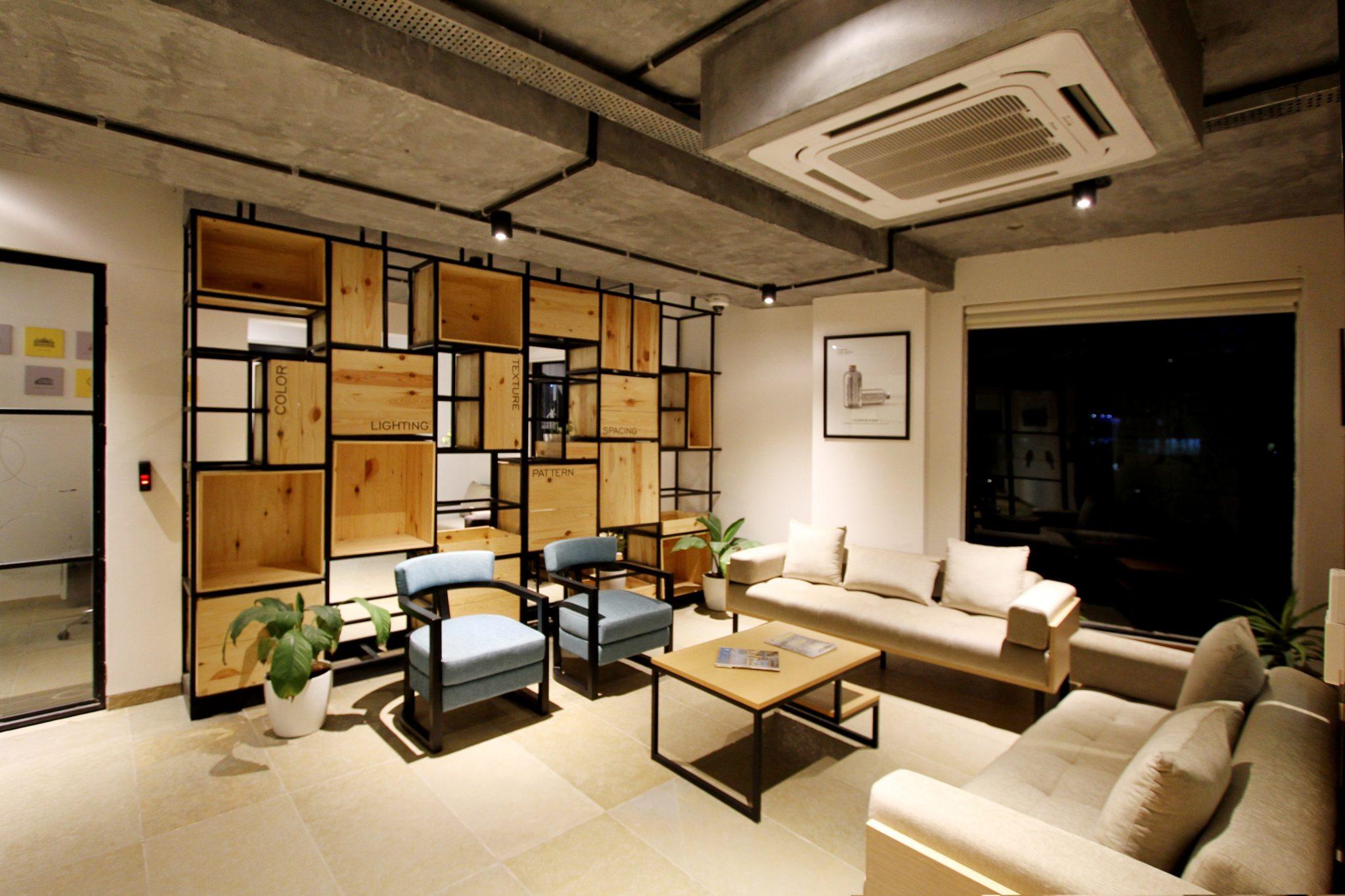 salon design maison